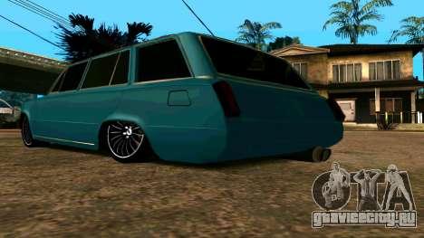 ВАЗ 2102 БПАN для GTA San Andreas вид сзади