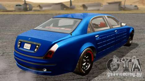 GTA 5 Enus Cognoscenti L Arm для GTA San Andreas вид сзади слева