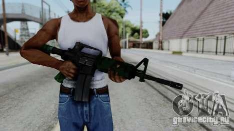 M16 A2 Carbine M727 v4 для GTA San Andreas третий скриншот