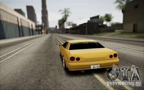 Elegy Speedhunters для GTA San Andreas вид слева