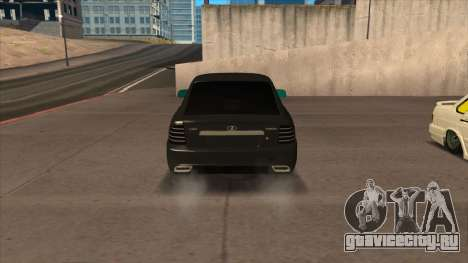 Лада Приора Купе для GTA San Andreas вид сзади слева