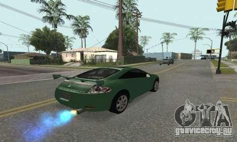 Mitsubishi Eclipse GT для GTA San Andreas вид слева