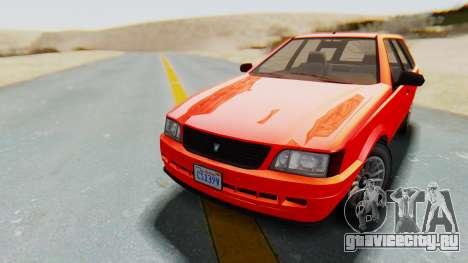 GTA 5 Vulcar Ingot IVF для GTA San Andreas
