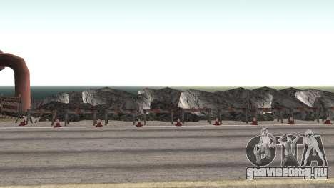Ремонт дороги Los Santos - Las Venturas для GTA San Andreas седьмой скриншот