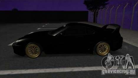 Toyota Supra Mid Night для GTA San Andreas вид слева