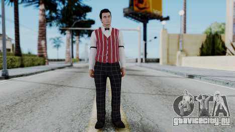 Be My Valentine DLC Male Skin для GTA San Andreas второй скриншот