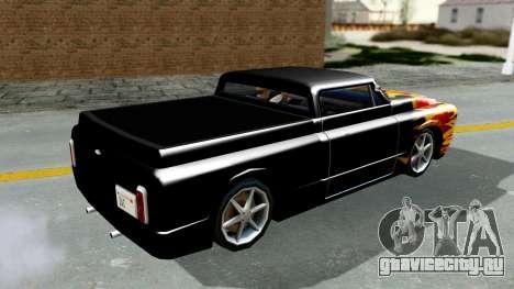 Blade New PJ для GTA San Andreas вид справа