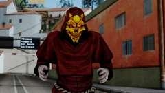 Monje Skull Gold Skin для GTA San Andreas