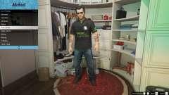 Рубашка поло Nvidia для Майкла