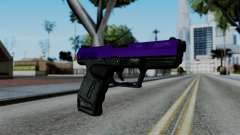 Purple Desert Eagle для GTA San Andreas