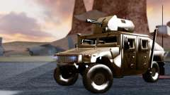 HUMVEE M1114 Desert для GTA San Andreas