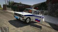 ВАЗ 2106 Полиция для GTA 5