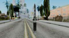 CoD Black Ops 2 - Balistic Knife для GTA San Andreas