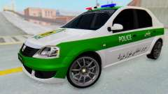 Dacia Logan Iranian Police Naja для GTA San Andreas