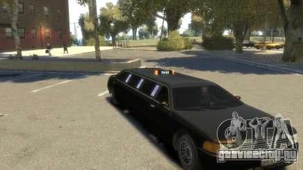 Taxi STRECH для GTA 4