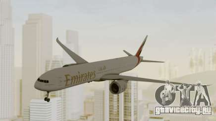 Boeing 777-9x Emirates Airlines для GTA San Andreas