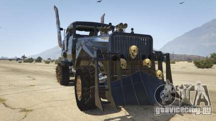 Mad Max The War Rig для GTA 5