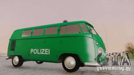 Volkswagen T1 Polizei для GTA San Andreas