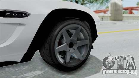 GTA 5 Coil Brawler Coupe для GTA San Andreas вид справа