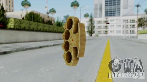 The Player Knuckle Dusters from Ill GG Part 2 для GTA San Andreas второй скриншот