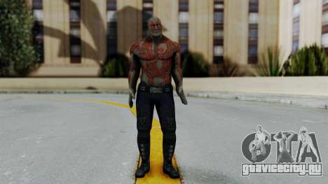 Marvel Heroes - Drax для GTA San Andreas второй скриншот