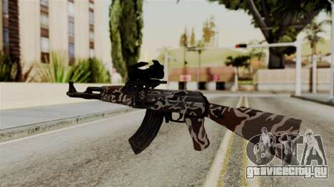 AK-47 F.C. Camo для GTA San Andreas второй скриншот