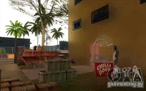 Ремонтные работы на Grove Street для GTA San Andreas одинадцатый скриншот