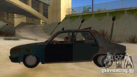Dacia 1310 Rusty v2 для GTA San Andreas вид слева