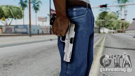 For-h Gangsta13 Pistol для GTA San Andreas третий скриншот