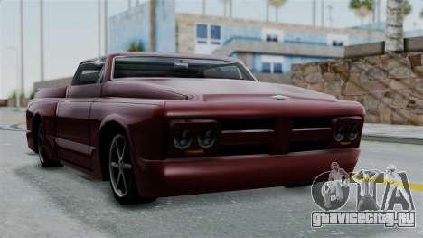 Slamvan Milt-Lorry для GTA San Andreas вид сзади слева