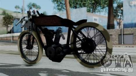 Indian 1907 для GTA San Andreas вид слева