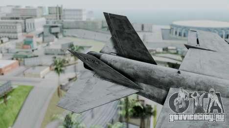 Mammoth Hydra v2 для GTA San Andreas вид сзади слева