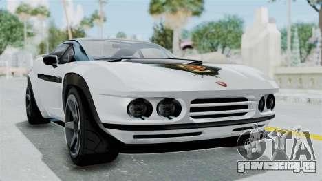 GTA 5 Coil Brawler Coupe для GTA San Andreas вид слева