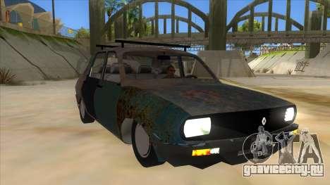 Dacia 1310 Rusty v2 для GTA San Andreas вид сзади