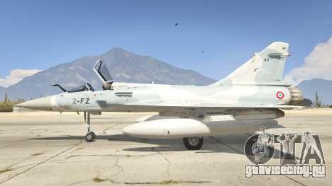 Dassault Mirage 2000-5 для GTA 5 второй скриншот