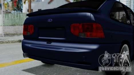 Ford Escort для GTA San Andreas вид справа
