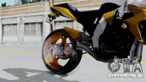 Honda CB1000R v2 для GTA San Andreas вид справа