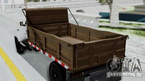 GTA 5 Tipper Second Generation для GTA San Andreas вид справа