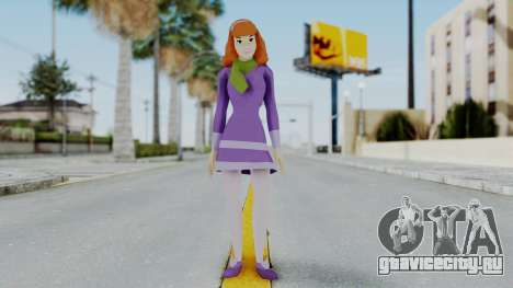 Scooby Doo Daphne для GTA San Andreas второй скриншот