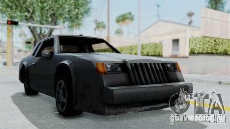 Гражданский Hotring для GTA San Andreas вид сзади слева