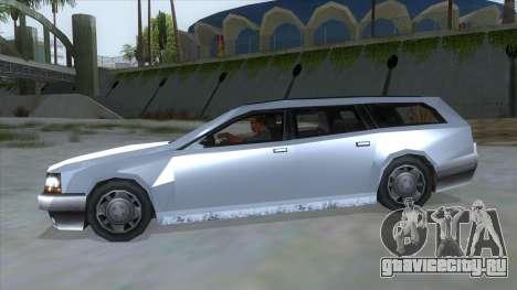 GTA LCS Sindacco Argento для GTA San Andreas вид слева
