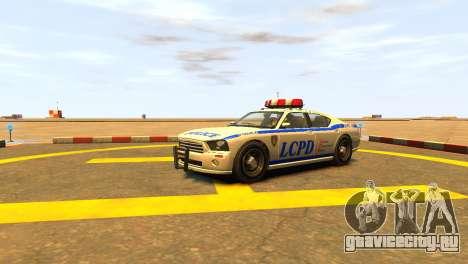 Bravado Buffalo Police Patrol [original wheels] для GTA 4