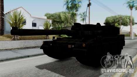 Point Blank Black Panther Woodland IVF для GTA San Andreas вид сзади слева