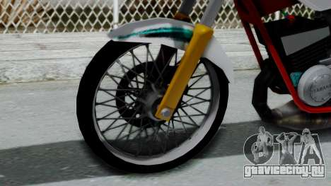 RX- King Putih для GTA San Andreas вид сзади слева