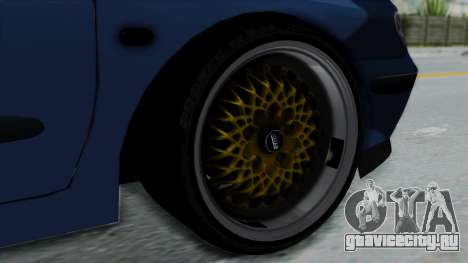 Renault Megane Stance для GTA San Andreas вид сзади слева