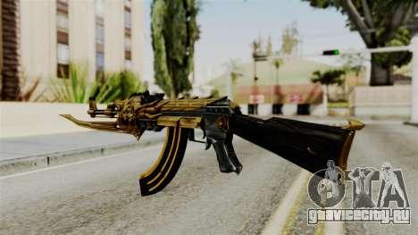 Dragon AK-47 для GTA San Andreas второй скриншот
