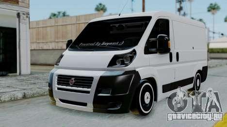 Fiat Ducato для GTA San Andreas