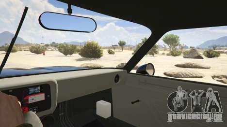 1974 Ford Capri RS для GTA 5 вид сзади справа