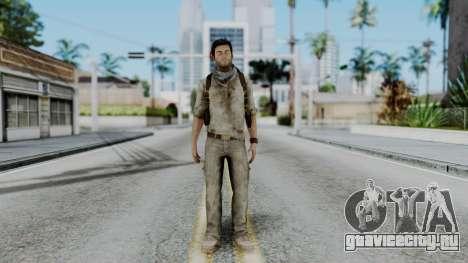 Uncharted 3 - Nathan Drake Desert Outfit для GTA San Andreas второй скриншот