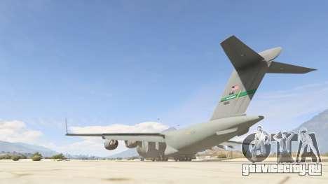 C-17A Globemaster III v.1.1 для GTA 5 третий скриншот